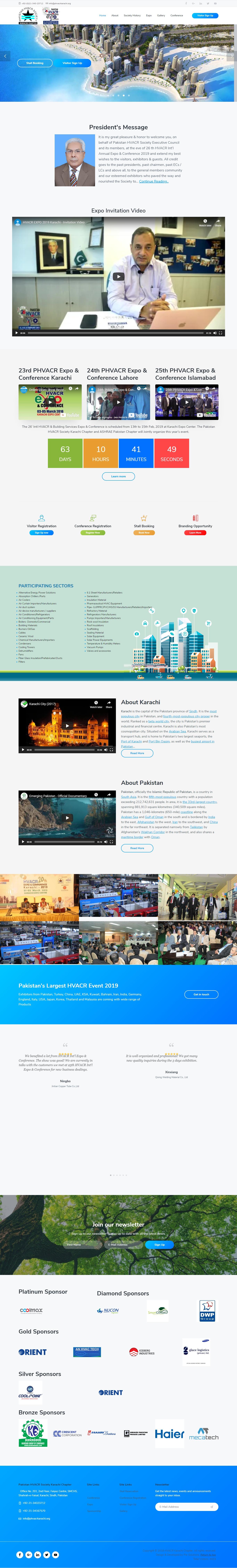 hvacrexpo.org .pk  1