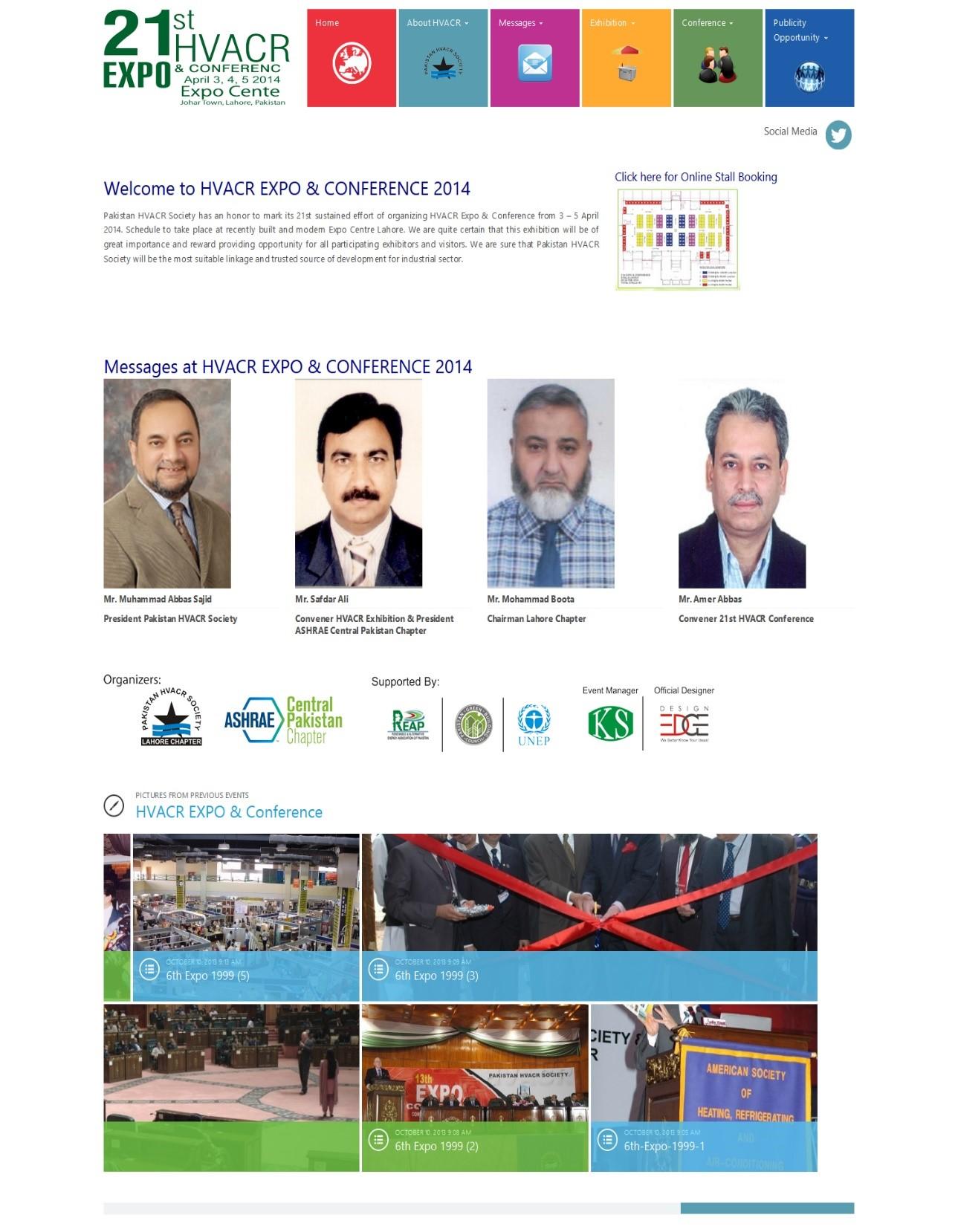 hvacrexpo.org .pk