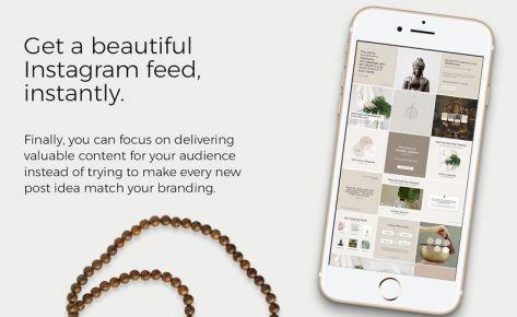 Instagram Marketing Pots Design